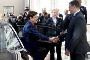 Premier Szydło z premierem Estonii m.in. o Rail Baltica i Via Carpatia