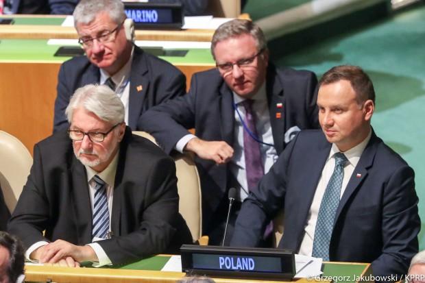 Prezydent na sesji ONZ: Polska będzie kontynuować działania na rzecz ochrony klimatu