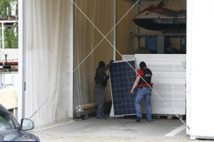 Gang złodziei paneli fotowoltaicznych rozbity