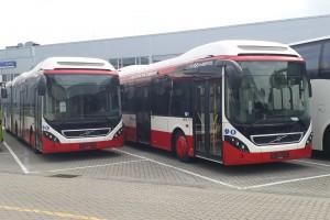 Sześć kolejnych autobusów hybrydowych Volvo w Sosnowcu