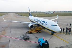 Ryanair przewiózł się na Boeingach