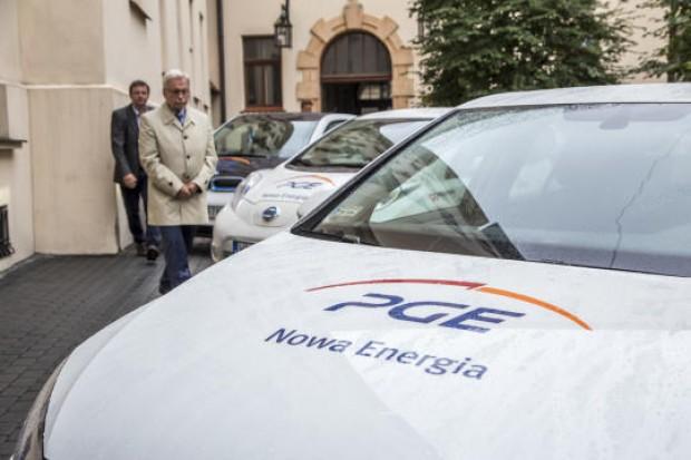 PGE chce w Krakowie wypożyczać elektryczne samochody