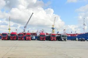 Ten produkt pierwszy raz opuścił Litwę drogą morską. Dzięki polskim firmom