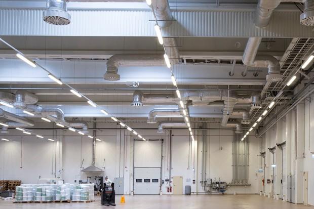 ES-System oświetlił fabrykę wyrobów czekoladowych Wawel