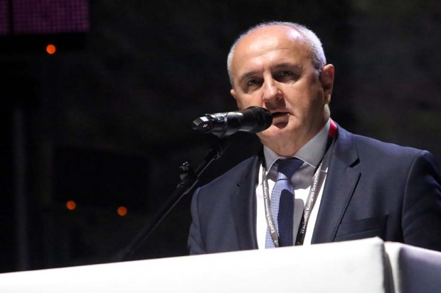 Petar Djokić, minister przemysłu, energetyki i górnictwa Republiki Serbskiej Bośni i Hercegowiny. Fot. PTWP