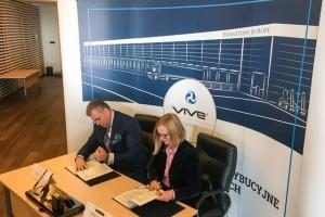 Kontrakt Vive z Panattoni Europe
