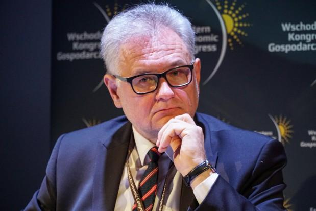 Andrzej Pruszkowski, wiceprezes PGE Dystrybucja. Fot. PTWP (Michał Oleksy)