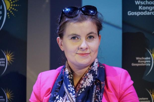 Agnieszka Przesmycka z Departamentu Energii Odnawialnej w Ministerstwie Energii. Fot. PTWP