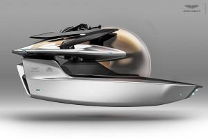 Aston Martin zaprezentował łódź podwodną za 4 miliony dolarów