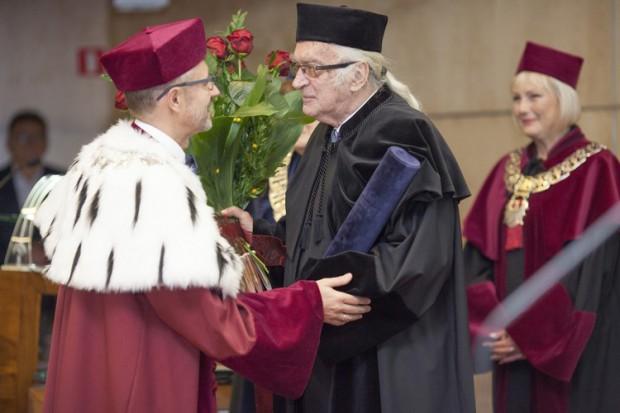 Odbyło się uroczyste odnowienie doktoratu prof. Andrzeja Barczaka