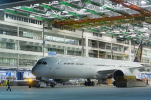 Nowy wielki Dreamliner Boeinga już gotowy
