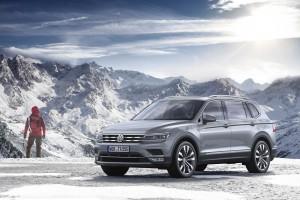 Dłuższy, siedmiomiejscowy Volkswagen Tiguan Allspace