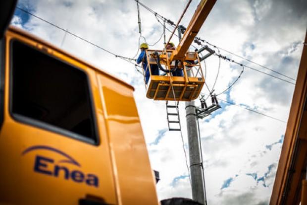 Enea przywróciła dostawy energii w ponad 3 200 miejscowościach