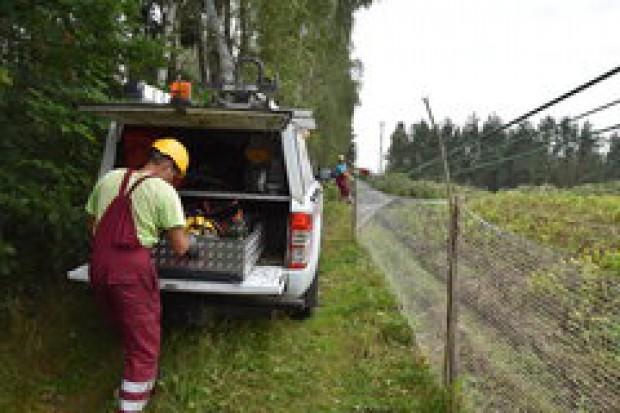 Najwięcej ludzi bez prądu w woj. lubuskim