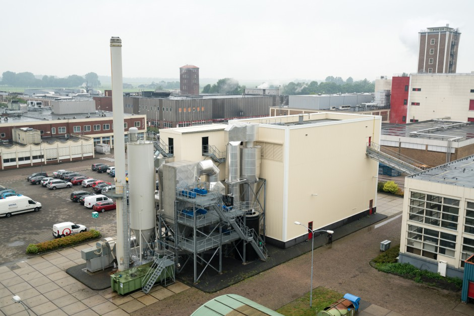 Biomasowa kotłownia w zakładzie Jacobs Douwe Egberts. fot. mat. pras.