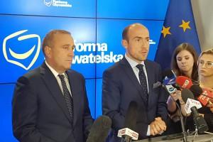 Schetyna: Zaproponujemy scenariusz przyjęcia euro