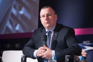 Henryk Baranowski, prezes PGE, chwali się dobrymi wynikami finansowymi grupy