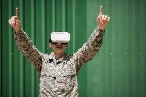 Wirtualna rzeczywistość pomaga żołnierzom w walce ze stresem