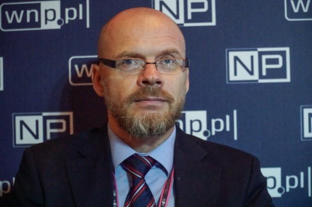 Krzysztof Kochanowski, prezes zarządu Stowarzyszenia Polskiej Izby Magazynowania Energii. Fot. PTWP (Michał Oleksy)