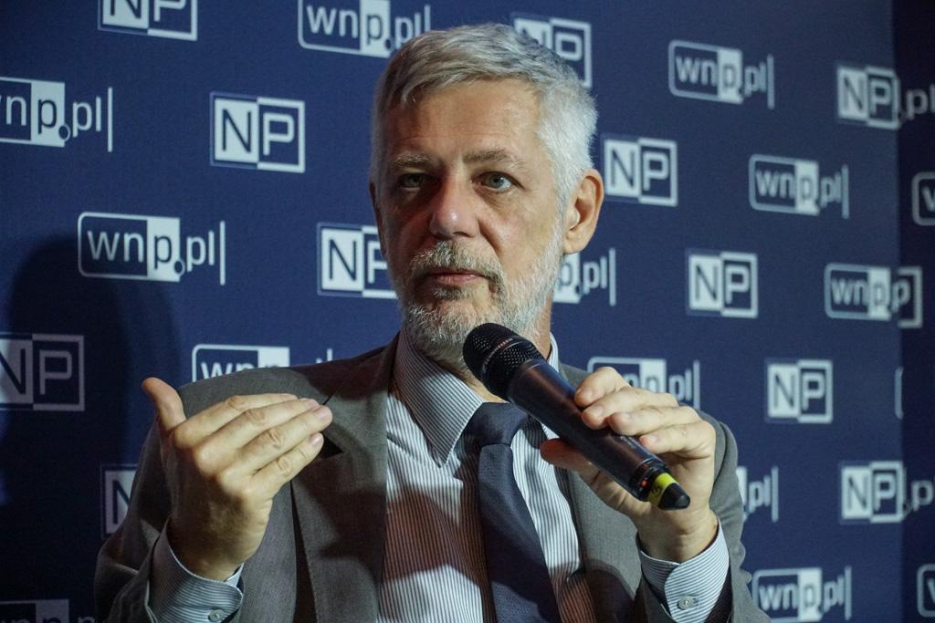 Podsekretarz stanu w Ministerstwie Energii Andrzej J. Piotrowski. Fot. PTWP