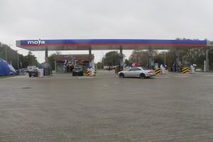 Niezależna sieć uruchomiła pierwszą hybrydową stację paliw