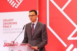 Morawiecki: obcokrajowcy nie zabierają miejsc pracy Polakom