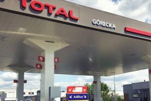 Total uruchomił stację w Poznaniu