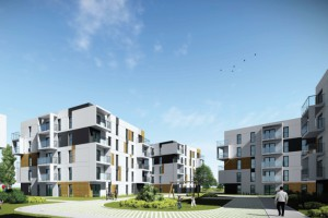 Pekabex zaprezentował koncepcję osiedla z prefabrykatów