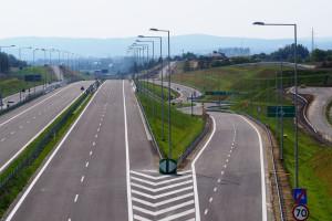 Ważny fragment drogi Via Carpatia już gotowy. Na razie bez kierowców