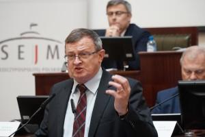 Poseł Tadeusz Cymański. Fot. PTWP (Andrzej Wawok)