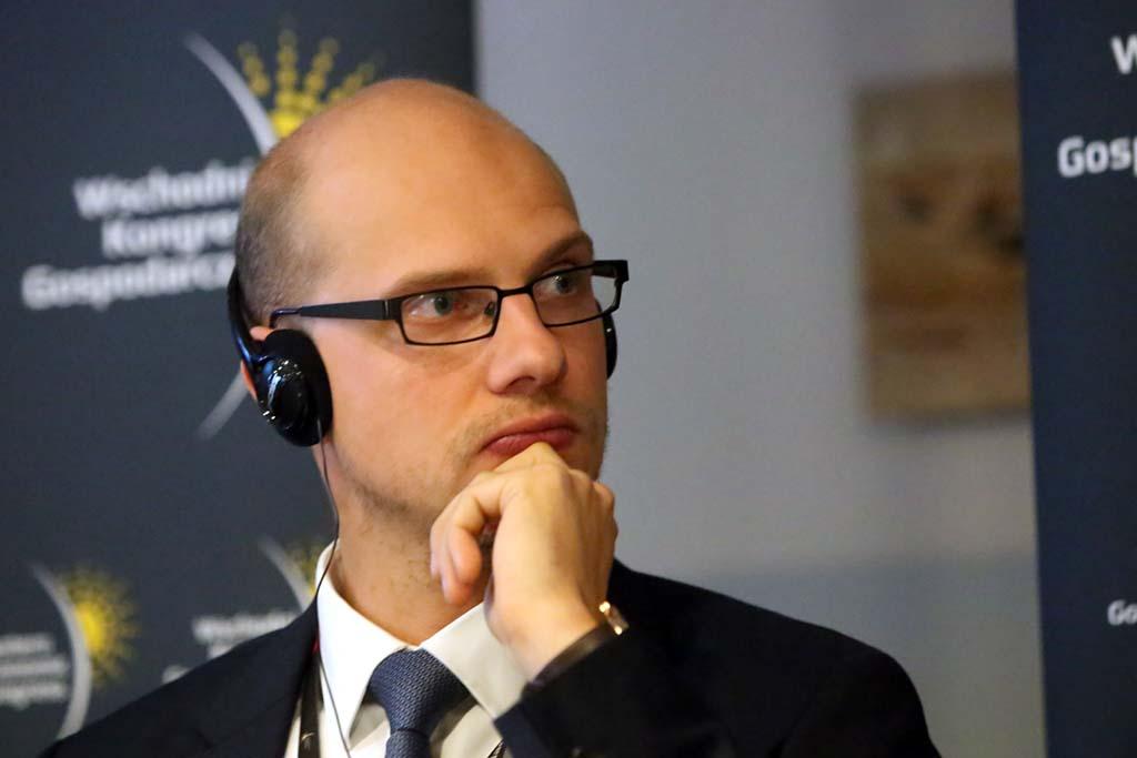 Ignas Degutis, członek zarządu RB Rail (fot. Grupa PTWP)