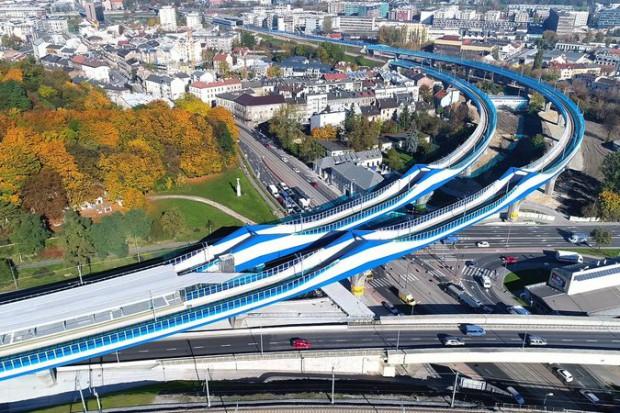 Testy łącznicy krakowskiej. To największy taki obiekt w Polsce