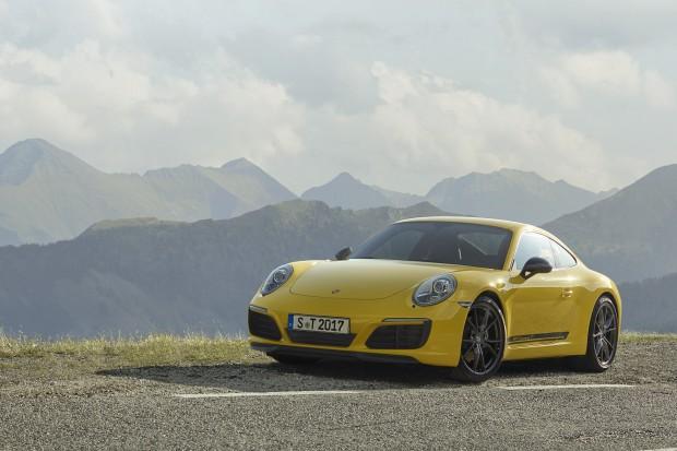 Porsche 911 Carrera T – moc z odchudzania