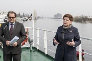 Szydło: Europa Środkowo-Wschodnia bramą Unii do Chin