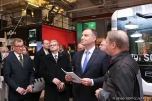 Prezydent Duda zapowiada dalsze wspieranie polskich start-upów