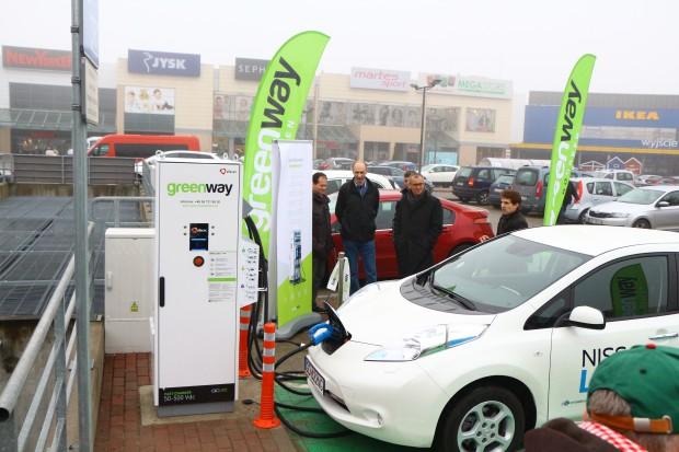 Kolejna stacja ładowania aut elektrycznych od firmy Greenway