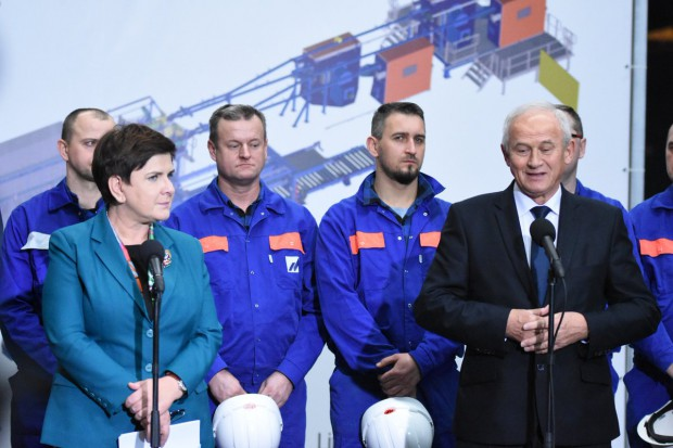 Beata Szydło zainaugurowała nową inwestycję Mostostalu Siedlce