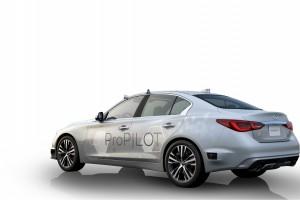 Samochód ma w sumie prawie 40 czujników, kamer, sensorów i radarów.