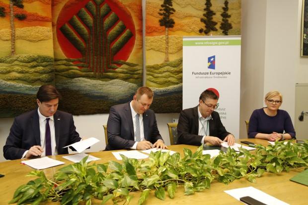 Kolejne umowy na dofinansowanie projektów proekologicznych