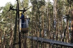 Operatorzy systemów energetycznych prześcigają się w usuwaniu awarii spowodowanych wichurami