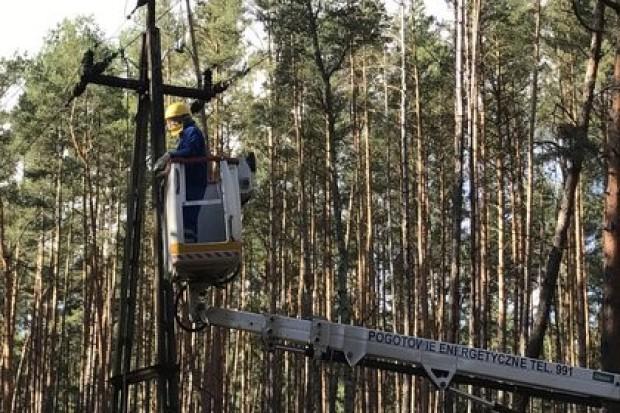 Enea Operator przywróciła dostawy prądu do ok. 150 tys. odbiorców w 14 godzin