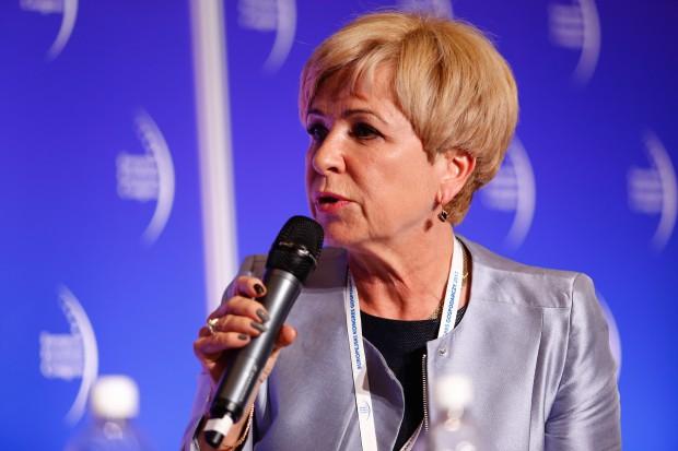 Iwona Dybał, prezes Polskiej Unii Dystrybutorów Stali. Fot. PTWP