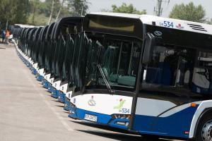 38 nowych Solarisów jeździ w stolicy małopolskiego
