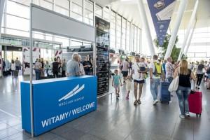 Wrocławskie lotnisko obsłużyło rekordową liczbę pasażerów