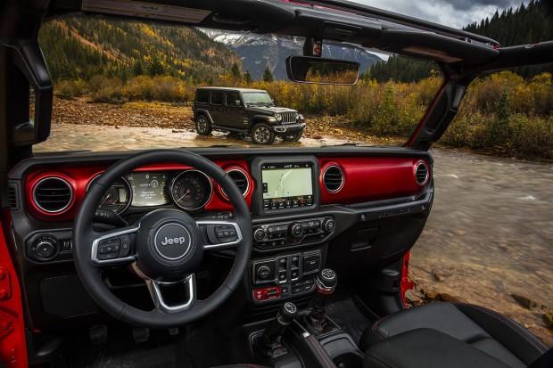 Jeep Wrangler w nowej odsłonie. Zobacz jego wnętrze