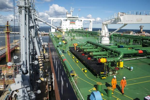 Pierwsza ropa z USA dla Lotosu dotarła do Gdańska