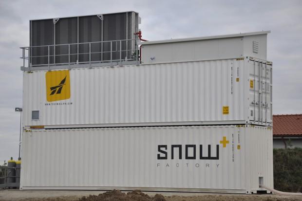 W Polsce powstanie największa europejska fabryka śniegu