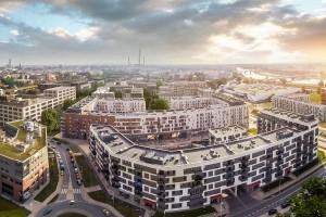 Kolejny kontrakt Erbudu w Promenadach Wrocławskich
