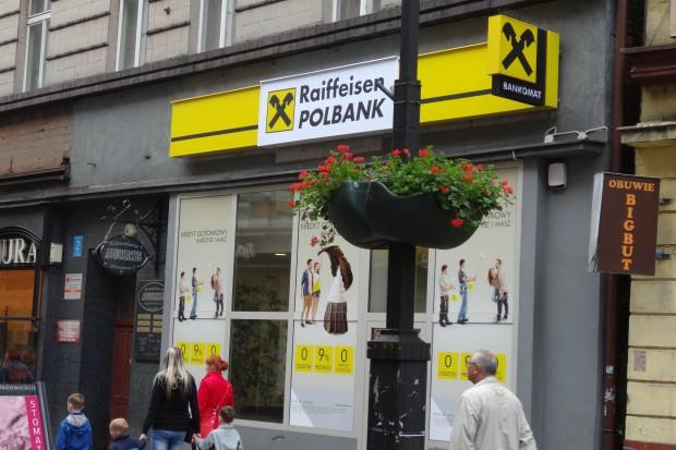 Znaczny spadek zysku Raiffeisen Bank Polska
