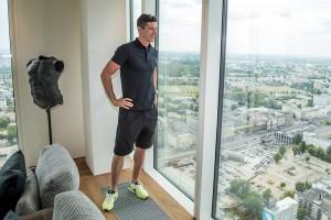 Robert Lewandowski nabył apartament w wieżowcu Złota 44